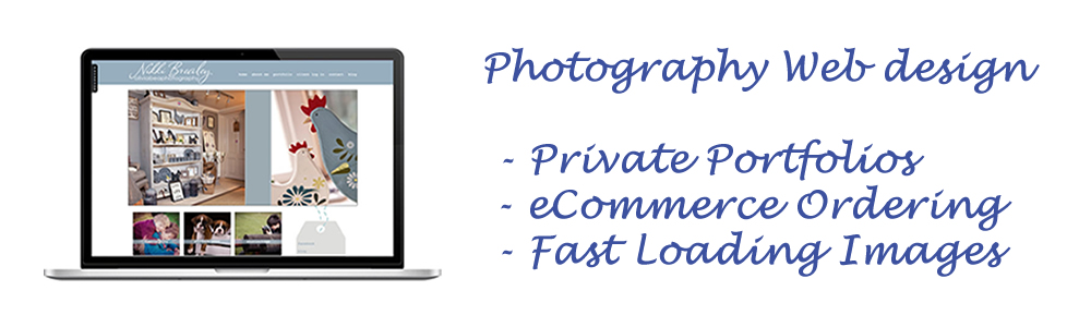 web design for photographers
